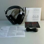 Astro A40 Gaming Headset With Aux Cable And Mic For Ps3 Ps4 Xbox Windows And Mac