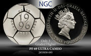 1996 G.britain 2p European Championship Ngc Pf69 Ultra Cam Silver Only 3 Higher