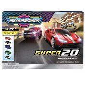 Micro Machines Super 20 Pack Toy Cars Vehicles Collection Exclusive New