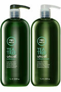 Paul Mitchell Tea Tree Special Shampoo And Conditioner 10.14 Or 33.8 Oz Duo