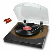 Ion Audio Premier Lp Wd Brown Built-in Speaker Bluetooth Record Player I8131