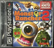 Black Label Monster Rancher 2 For Playstation 1 - Perfect Working Condition