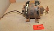 Early Ge General Electric 1/6 Hp Motor 1725 Rpm Lathe Fan Collectible Part M0