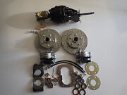 1966-1971 Ford Fairlane Torino Power Front And Rear Disc Brake Conversion
