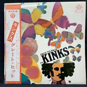Nippon Columbia Original With Obi First Edition Of Japan Colombia The Kinks Face