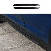 For Mini Cooper Countryman F60 Dry Carbon Fiber Exterior Door Panel Side Skirts