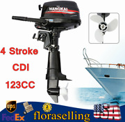 4-stroke Outboard Motor Boat Engine Cdi Water-cooling System Heavy Duty 123cc Us