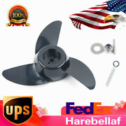 Propeller For Trolling Motor 3 Blades Marine Boat Parts Set W/ Wrench Washer Us