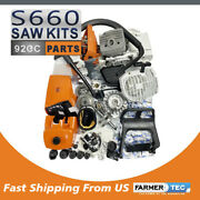 Farmertec Complete Repair Kit Engine Motor Cylinder For Stihl Ms660 066 Chainsaw