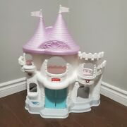 Vintage Fisher Price Once Upon A Dream Disney Castle Doll Playset White 1995
