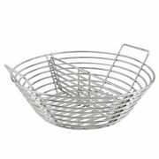 Lump Charcoal Fire Basket Stainless Steel Rack Grill Ash Basket For Kamado Bbq