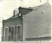 1973 Press Photo Restored New Orleans Townhouse At Royal Street, Franklin Avenue