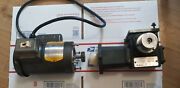 1/8 Hp Baldor Industrial Motor+right Angle Gear 86 To 1 Single Phase Works Great