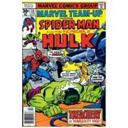 Marvel Team-up 1972 Series 54 In Very Fine Condition. Marvel Comics [hl]