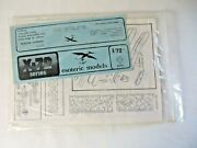 Esoteric Models X-72 Nimrod Hawker 172 Model Airplane Kit New Old Stock 11731