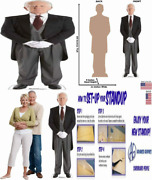 Cardboard People Butler Life Size Cutout Standup One Size
