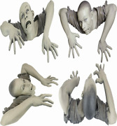 Design Toscano The Zombie Of Montclaire Moors Garden Statue Large, Full Color