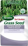 Scotts Turf Builder Grass Seed Zoysia Grass Seed And Mulch, 5 Lb