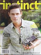 Instinct Gay Magazine Phillip Smith Outing Hollywood Travel Style And Fashion .