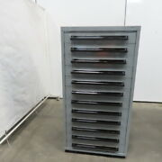 Equipto 12-drawer Industrial Parts Tool Storage Shop Cabinet 30x28x59