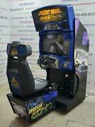 Rush 2049 By Midway Coin-op Sit-down Driving Arcade Video Game