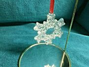 Waterford Crystal Snowflake Ornament - Second