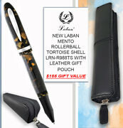 Laban Mento R/ball Tortoise Shell Lrn-r988ts And Leather Pouch 155 Value