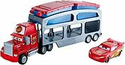 Disney Cars Minicar Color Changers Mack Dip And Dunk Trailer Ma