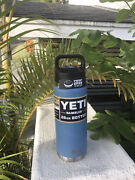 Yeti Rambler Pacific Blue 26 Oz Bottle With Chug Cap Rare Discontinued Color