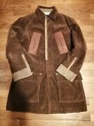 Fw02 Dsquared2 Homeless Cord Jacket Size 48 71 A004