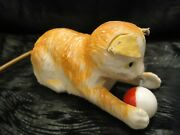 Vintage Toys 1960and039s- Marx Toys Hong Kong Wind Up Cat