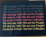 Wir Sind Das Volk German Unification —tribute To The Fall Of The Wall 1990