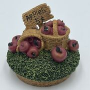 Our American Gift Apples Baskets Candle Topper With Its Cork