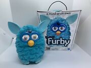 2012 Hasbro Furby Blue Teal A Mind Of It's Own Open Box-used Condition-works