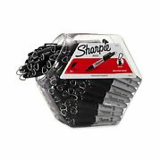 Sharpie Permanent Mini Markers Fine Point Black 72-pack Canister