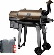 Zpg-450a 2021 Upgrade Wood Pellet Grill And Smoker 8 In 1 Bbq Grill Zpg-450a+