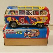 Rare Items Tin Toy Animal Bus Made By Ichiko Wagen Toys Showa Retro With Box In