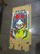 Gottlieb Dimension Pinball Playfield Nos - New Old Stock Wood Only