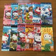Sanrio Hello Kitty Collectible Hand Towel Set Of 12 From Japan Free Shipping