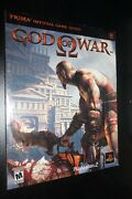 God Of War Prima Official Strategy Guide Playstation 2 New