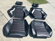 Recaro Volkswagen Cabriolet Upholstery Seat Kit Front/rear Beautiful New
