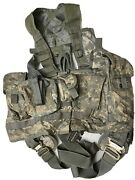 Us Army Issue Acu Ucp Military Air Warrior Crewman Survival Vest Used.