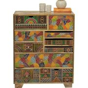 Vivid India Contemporary Mango Wood Tallboy Chest Of Drawers Made To Order