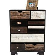 Vivid Nair Contemporary Mango Wood Tallboy Chest Of Drawers Made To Order