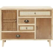 Vivid Rattan Woven Jute Chest Of Drawers Dresser Sideboard Small Made To Order