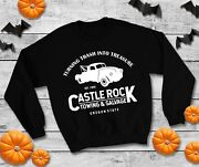 Castle Rock Towing And Salvage Jumper - Stand By Me Film Halloween Sweatshirt Top