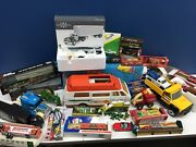 Vtg And Modern Lot Die Cast Trucks Trains Toy Cars Tonka Campbells Soup Buddy L