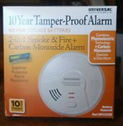 Universal Security 10 Year Tamper Proof Smoke And Fire+carbon Monoxide Smart Alarm