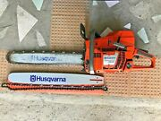 Husqvarna 395 Xp [2017] With 24 Bar And Chain + New 24 Bar And New Chain