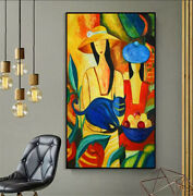 Hand Painted Canvas Painting Wall Pictures Picasso Famous Modern Pure For Home